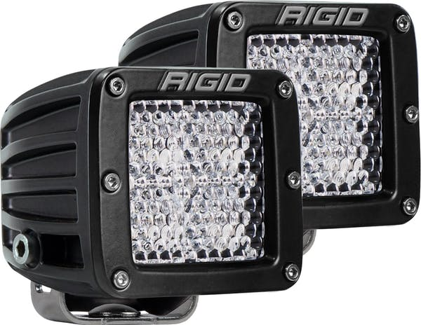 RIGID Industries 202513 D-Series PRO Diffused LED Light, Surface Mount