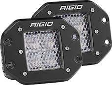 RIGID Industries 212513 D-Series PRO Diffused LED Light, Flush Mount