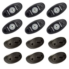 RIGID Industries 400253 Rock Light Kit, Clear White 6 lights