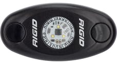RIGID Industries 480043 A-Series LED Light, Black-Low Strength Red