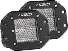 RIGID Industries 512513 D-Series PRO Specter Diffused LED Light, Flush Mount