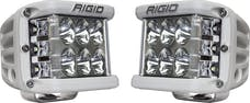RIGID Industries 862313 Dually Side Shooter PRO LED Driving Light, Surface Mount