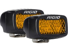 RIGID Industries 90171 SR-M Series Diffused Rear Facing High/Low SM Amber Set Of 2