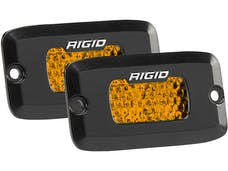RIGID Industries 90172 SR-M Series Diffused Rear Facing High/Low FM Amber Set Of 2