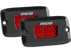 RIGID Industries 90174 SR-M Series Diffused Rear Facing High/Low FM Red Set Of 2