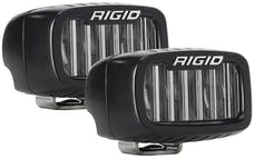 RIGID Industries 902533 SR-M Series SAE Fog Light Pair