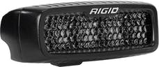 RIGID Industries 905513BLK SR-Q Series Pro Spot Diffused Midnight Surface Mount | Pair