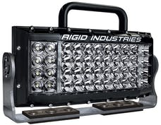 Rigid Industries 73511 SITE SERIES AC FLOOD OPTIC BLACK HOUSING