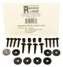Rugged Liner LIK45 Tailgate Piece Install Kit