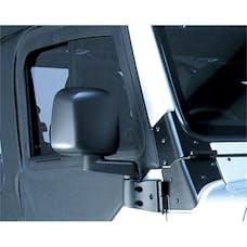 Rugged Ridge 11002.10 Door Mirror; Black; Right Side; 87-06 Jeep Wrangler