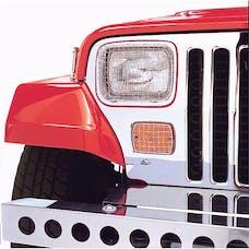 Rugged Ridge 11102.02 Stone Guard Set; Stainless Steel; 87-95 Jeep Wrangler YJ