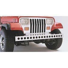 Rugged Ridge 11107.02 Stainless Steel Front Bumper; 87-95 Jeep Wrangler YJ