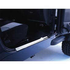 Rugged Ridge 11119.03 Door Entry Guards; Stainless Steel; 97-06 Jeep Wrangler TJ