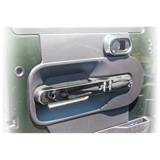 Rugged Ridge 11156.16 Front Door Handle Trim, Chrome