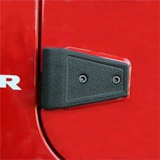 Rugged Ridge 11202.04 Door Hinge Cover Kit, Textured Black