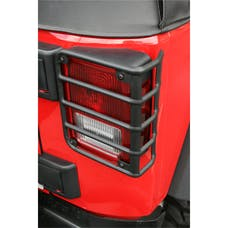 Rugged Ridge 11226.02 Tail Light Euro Guards; Black; 07-17 Jeep Wrangler JK