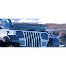 Rugged Ridge 11350.01 Bug Deflector, Smoke; 87-06 Jeep Wrangler YJ/TJ