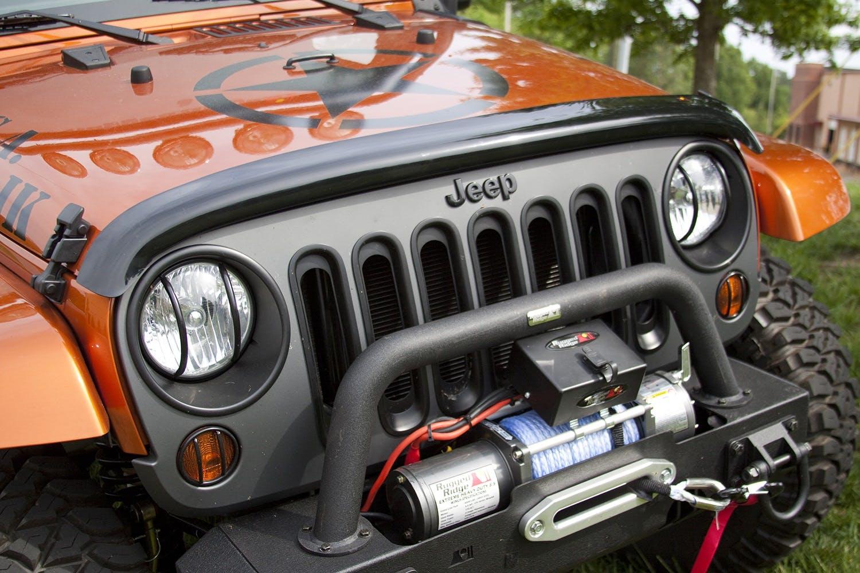 Rugged Ridge Hood Cowl Vent Scoop Jeep Wrangler TJ 98-06 JK 07-16 BLACK 11352.12