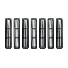Rugged Ridge 11401.03 Billet Grille Inserts, Black