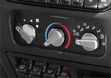 Rugged Ridge 11420.04 Aluminum Climate Control Knob Set; Red; 99-06 Jeep Wrangler TJ