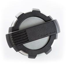 Rugged Ridge 11425.10 Elite Fuel Door; Non-Lock; Brushed Alum.; 07-17Jeep Wranlger JK