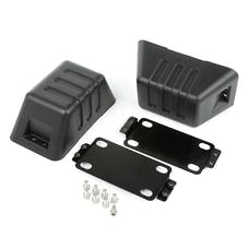 Rugged Ridge 11540.26 XHD Bumper Tow Point Cover; 07-17 Jeep Wrangler JK