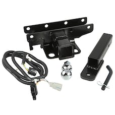 Rugged Ridge 11580.53 Hitch Kit; 1 7/8 Inch Ball; 07-17 Jeep Wrangler JK