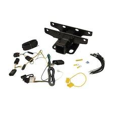 Rugged Ridge 11580.57 Receiver Hitch Kit w/ Wiring Harness