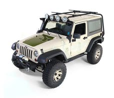 Rugged Ridge 11703.01 Sherpa Roof Rack, 2 Door