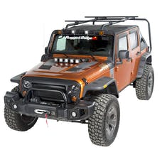 Rugged Ridge 11703.22 Sherpa Roof Rack Kit, 4-Door