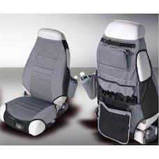Rugged Ridge 13235.09 Fabric Seat Protectors; Gray; 76-06 Jeep CJ/Wrangler YJ/TJ