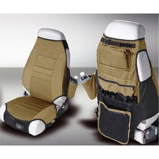 Rugged Ridge 13235.37 Fabric Seat Protector Vests; Spice; 76-06 Jeep CJ/Wrangler YJ/TJ