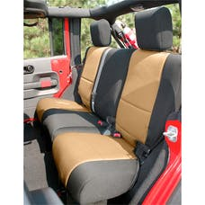 Rugged Ridge 13264.04 Neoprene Rear Seat Cover; 07-17 Jeep Wrangler JKU