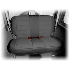 Rugged Ridge 13265.01 Neoprene Rear Seat Cover; Black; 07-17 Jeep Wrangler JK