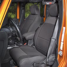 Rugged Ridge 13297.01 Seat Cover Kit, Black