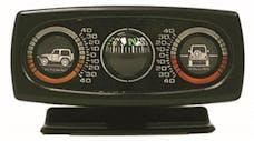Rugged Ridge 13309.01 Clinometer with Compass; Universal