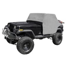 Rugged Ridge 13310.09 Cab Cover; Gray; 87-91 Jeep Wrangler YJ