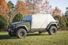 Rugged Ridge 13318.10 Weather Lite Cab Cover; 07-17 Jeep Wrangler JKU