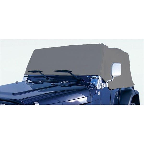 Rugged Ridge 13321.01 Weather Lite Cab Cover; 76-06 Jeep CJ/Wrangler YJ/TJ