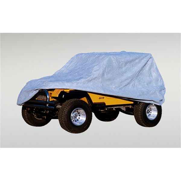 Rugged Ridge 13321.51 Weather Lite Full Jeep Cover; 76-95 Jeep CJ/Wrangler YJ