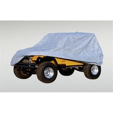 Rugged Ridge 13321.51 Weather Lite Full Jeep Cover; 76-95 Jeep CJ/Wrangler YJ