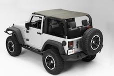 Rugged Ridge 13591.36 Pocket Island Topper; Khaki Diamond; 10-17 Jeep Wrangler JK