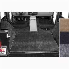 Rugged Ridge 13690.01 Deluxe Carpet Kit, Black