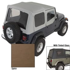 Rugged Ridge 13702.37 Soft Top; Door Skins; Spice; Tinted Windows; 88-95 Jeep Wrangler YJ