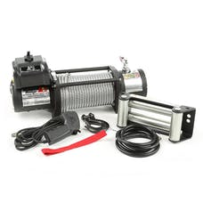 Rugged Ridge 15100.20 SPARTACUS HEAVY DUTY WINCH, 12500 LBS WLL, STEEL CABLE