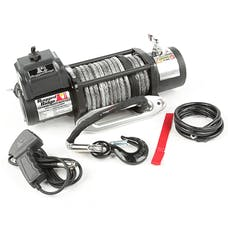 Rugged Ridge 15100.21 Spartacus Performance Winch; Synthetic Rope; 12500 lbs