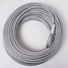 Rugged Ridge 15103.02 Steel Winch Cable; 23/64 Inch x 94 feet