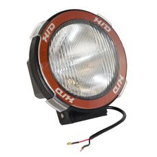 Rugged Ridge 15205.04 5 Inch Round HID Off Road Light Kit; Black Composite Housing