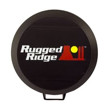 Rugged Ridge 15210.52 5 Inch HID Light Cover; Black