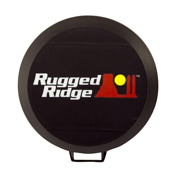 Rugged Ridge 15210.52 5 Inch HID Light Cover; Black